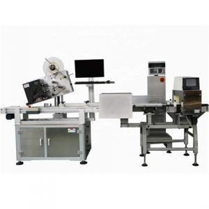Chocolate Bar Food Grade Top Surface Labeling Machine