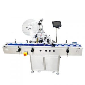 Auto Bottle Flat Labeling Machine Labeler Packaging Machinery