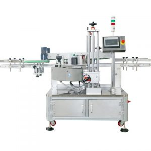 Full Automatic Bottom Top Sealing Labeling Machine