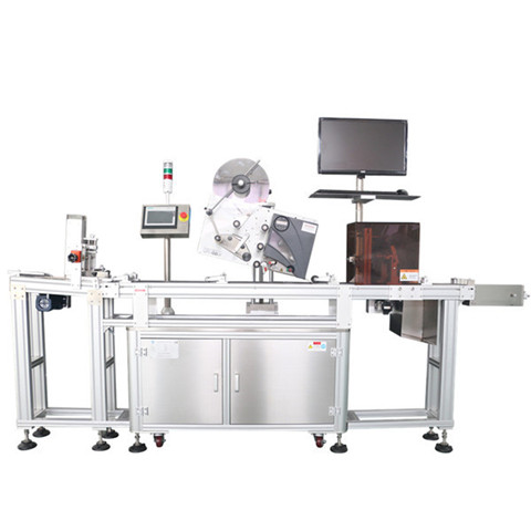 Bucket Labeller Wrap around bucket labeling machine automatic...