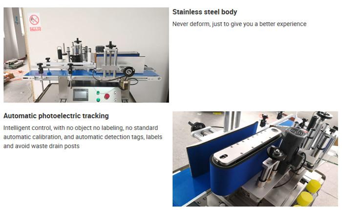 Automatic Tabletop Bottle Labeling Machine Details