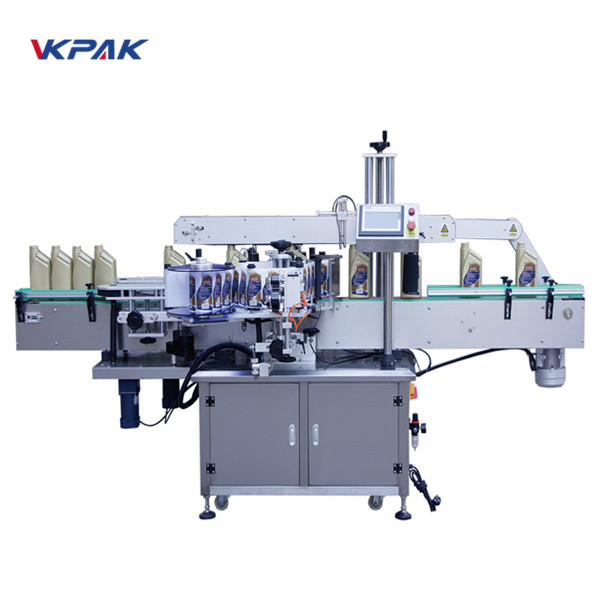 Automatic Front And Back Double Sided Labeling Machine