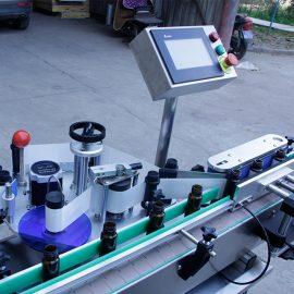 Automatic Vertical Round Bottle Sticker Labeling Machine Details